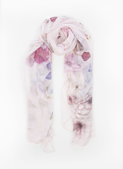 Silk and Cashmere Fular Pembe